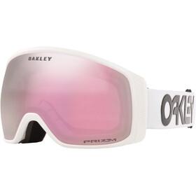 Oakley Flight Tracker XM Schneebrille Damen factory pilot white/prizm snow hi pink
